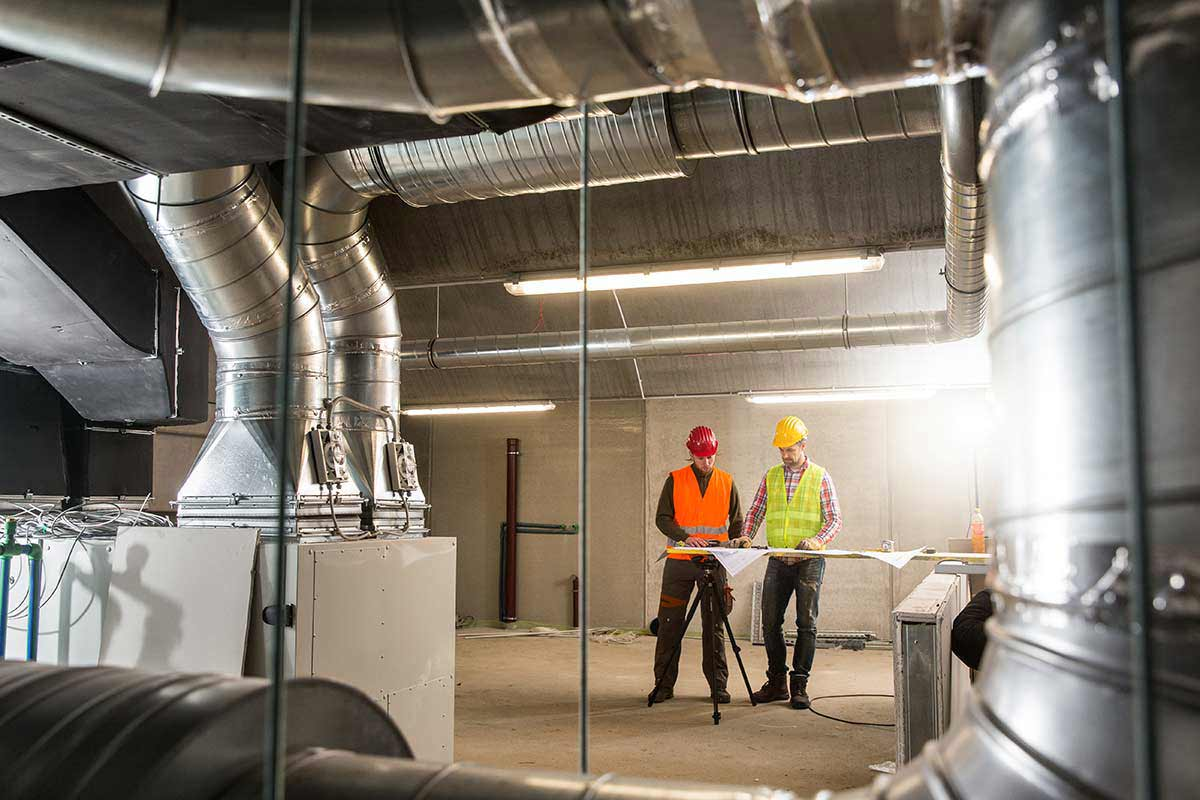 HVAC automation - another example of smart building functionality